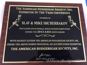 2013 ABS Best